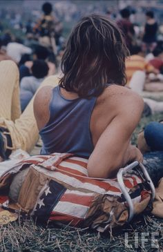 """I still love everything Woodstock. I've always been haunted by and curious about the people in the photographs. """"What we have in mind, is breakfast in bed for 400,000."""""""