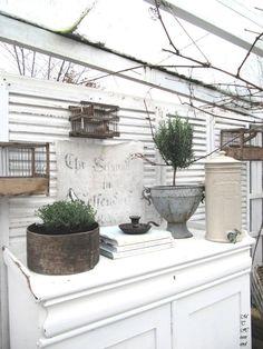 shabby chic gazebos pics | Gazebo. Outside Patio Garden Whitewashed Cottage Chippy Shabby chic ...
