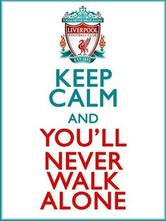 Liverpool: Keep Calm and You Will Never Walk Alone Gerrard Liverpool, Ynwa Liverpool, Liverpool Fans, Liverpool Home, Liverpool Football Club, Liverpool Tattoo, Liverpool Champions, Salah Liverpool, Lfc Wallpaper