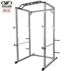 1fa9eabe2 Valor Fitness BD-33 Heavy Duty Power Cage with Multi-Grip Chin-Up -  Walmart.com