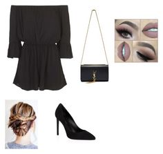 """Untitled #62"" by mkcorniel on Polyvore featuring Topshop and Yves Saint Laurent"