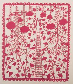 I'm obsessed with Robryan work. -he hand cuts the most lovely pieces of art.