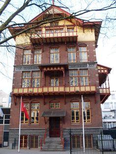 Amsterdamsche Huishoudschool in Amsterdam | Monument - Rijksmonumenten.nl Zandpad 5