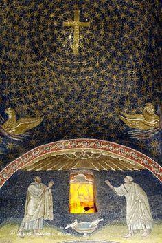Detail:  The Mausoleum of Galla Placidia, Ravenna,Italy .
