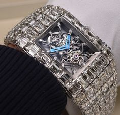 This watch you are looking at cost a staggering $18million. Yes, you read it right. When you convert that to Naira, that's about N3.6billion That's the billionaire tourbillon watch from Jacob and Co.