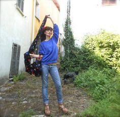 #red #blu #sportyoutfit #fashionblogger #italy #sweatshirt #denim #summer2013 #fashionamy #summertrend