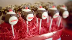tutorial: sock monkey cake pops