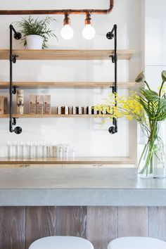Melbourne café's nautical theme is inspired by its family's proud naval tradition... http://www.we-heart.com/2014/12/05/hello-sailor-hawthorn-melbourne/