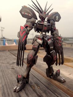 Custom Build: HG 1/144 Gundam Barbatos TIGER BONE - Gundam Kits Collection News and Reviews