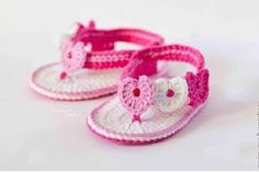 Sandal crochet free patterns for baby - Step by Step | Free Patterns