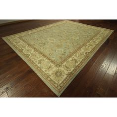 Manhattan One of a Kind Oushak Baby Super Chobi Hand-knotted Area Rug