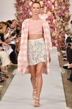 TOP10: Meus Looks favoritos da NYFW – Spring 2015 - Oscar de la Renta