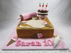 A Young Bakers Cake