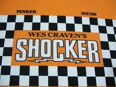 Vtg. Wes Craven's SHOCKER Horror Cult Film Movie Promo T Shirt Pileggi XL 1989