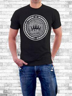 Camiseta Jesus is my king