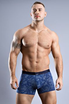 Not only is this handsome short for guys super stretchy and delightfully soft, this flattering underwear comes as a two pack! A beautiful blue paisley pattern as seen here and a totally on trend tartan check. Winner! JOCKEY MANHATTAN CALLING TRUNK 2PK 190534 £22.00 https://www.deadgoodundies.com/jockey-manhattan-calling-trunk-2pk-190534