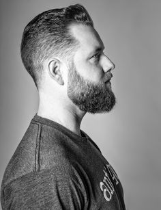 How to trim his beard? Personal tutorial and tips - Mode et Beaute Thick Beard, Bald With Beard, Red Beard, Short Beard, Man Bun Hairstyles, Pompadour Hairstyle, Undercut Pompadour, Beard Dreads, Hair