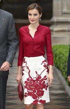 ru_royalty: Испанские монархи в Мексике (продолжение второго дня)