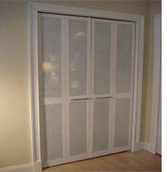 diy closet doors, but with mirrors?