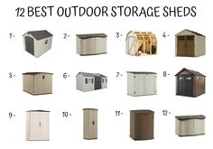 Storage Shed Buying Guide - Home Furniture Design Outdoor Storage Sheds, Shed Storage, Home Furniture, Furniture Design, Shed Decor, Stuff To Buy, Home Goods Furniture, Home Furnishings, Arredamento