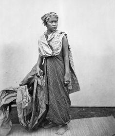 Ratu Boleleng, the wife of Gusti Ngura K'tut Djilantik, lord of Boleleng, Bali. 1870