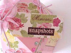 Craft Creations: Exploding Hexagon Pink Carousel Box