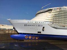 Harmony Royal Caribbean International, Royal Caribbean Cruise, Harmony Of The Seas, Cruise Ships, Random Things, Transportation, Beautiful Pictures, Ocean, Architecture