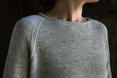 Ravelry: Lightweight Raglan Pullover pattern by Purl Soho