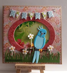 Marianne Design Cards, Bird Cards, Animal Cards, Pop Up Cards, Biscuit, Paper Quilling, Cardmaking, Tropical, Paper Crafts