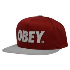 OBEY The City snapback burgundy red silver casquette streetshop 37,00 € #obey #obeyclothing #obeygiant #obeystore #obeyshop #obeystreet #obeystreetart #streetwear #streetart #obeyposse #obeypropaganda #urban #street #skate #skateboard #skateboarding #streetshop #skateshop @April Gerald Skateshop