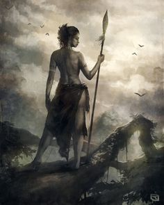 Warrior Woman by Rob