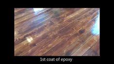Wood Concrete - How to make concrete look like wood flooring ... whaaaat