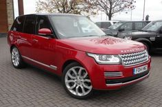Used 2014 (14 reg) Firenze Red Land Rover Range Rover 4.4 SDV8 Vogue SE 4dr Auto for sale on RAC Cars