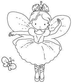 Fairy Ballerina with butterfly Hand Embroidery or Colouring Page Make your world more colorful with free printable coloring pages from italks. Our free coloring pages for adults and kids. Ballerina Coloring Pages, Dance Coloring Pages, Fairy Coloring Pages, Free Coloring Sheets, Cartoon Coloring Pages, Christmas Coloring Pages, Coloring Pages To Print, Free Printable Coloring Pages, Coloring Pages For Kids