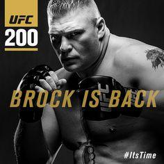 Brock Lesnar vs Mark Hunt oficjalnie na UFC 200