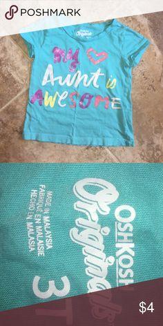 OshKosh top 3T Great condition. Smoke free home Osh Kosh Shirts & Tops Tees - Short Sleeve
