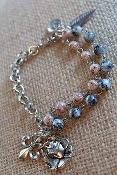 Bead With Me Bracelet by HaveFaithDesigns on Etsy