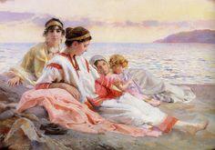 """Paul Alexandre Alfred Leroy (French, 1860-1942), """"Le Crépuscule Grek"""""""