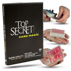 Magic Makers Top Secret Card Magic with Kris Nevling 11 Spectacular Card Tricks