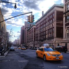 Amsterdam Avenue / Morningside Heights NYC
