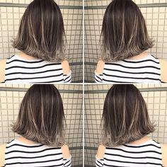 いいね!568件、コメント1件 ― イズミ タカヒロさん(@izumi_takahiro.jp)のInstagramアカウント: 「・ 夏のオーダーNo.1カラー🏄🏄🏄 ・ 外国人風バレイヤージュカラー💇 ・ 根元は7トーンのアッシュカラーに毛先はフリーハンドでブリーチしてグラデーションをつくっています😎…」 Medium Hair Styles, Short Hair Styles, Gradient Hair, Light Hair, Long Hair Cuts, Hair Highlights, Dyed Hair, Beauty Hacks, Hair Makeup