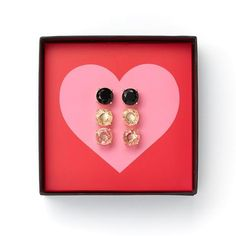 So happy with my recent purchase from C. Wonder.  These earrings go with everything.  Classic!