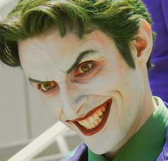 "briannacherrygarcia: "" crispy-gypsy: "" albinwonderland: "" lipstickrosary: "" satans-sextape: "" postacid: "" anthony misiano, also known as harley's joker "" Wow! Joker Cosplay, Joker And Harley Quinn, Best Cosplay, Joker Pics, Joker Art, Anthony Misiano, Personnage Dc Comics, Batman Halloween, Entertainment"