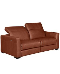 Reclining sofa sofas and furniture on pinterest for Andersen leather chaise sectional