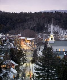 Stowe, VT, one of America's best ski towns    Courtesy of Stowe Mountain Resort