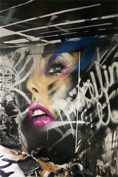 //ADNATE http://www.widewalls.ch/artist/adnate/ #contemporary #art #streetart