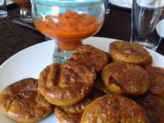 Patrícia is cooking.: Bolinhos de legumes com ketchup caseiro {Vegan, integral, sem açúcar}