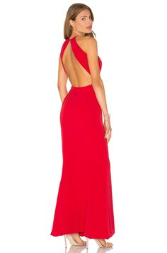 Lovers + Friends x REVOLVE Claudia Gown in Red | REVOLVE