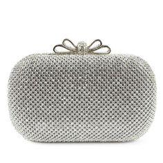 Handbags - $59.99 - Shining Metal With Crystal/ Rhinestone/Metal Clutches (012052547) http://jjshouse.com/Shining-Metal-With-Crystal-Rhinestone-Metal-Clutches-012052547-g52547