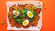 Koko pellin porkkanarösti on päältä rapea ja sisältä mehevä – tästä helppo vegeherkku koko perheelle